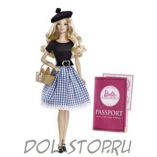 "Коллекционные куклы: кукла Барби ""Франция""-  France Barbie Doll"