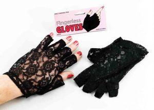 Перчатки кружевные (без пальцев)
