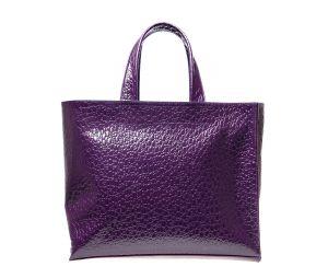 Фиолетовая итальянская сумка