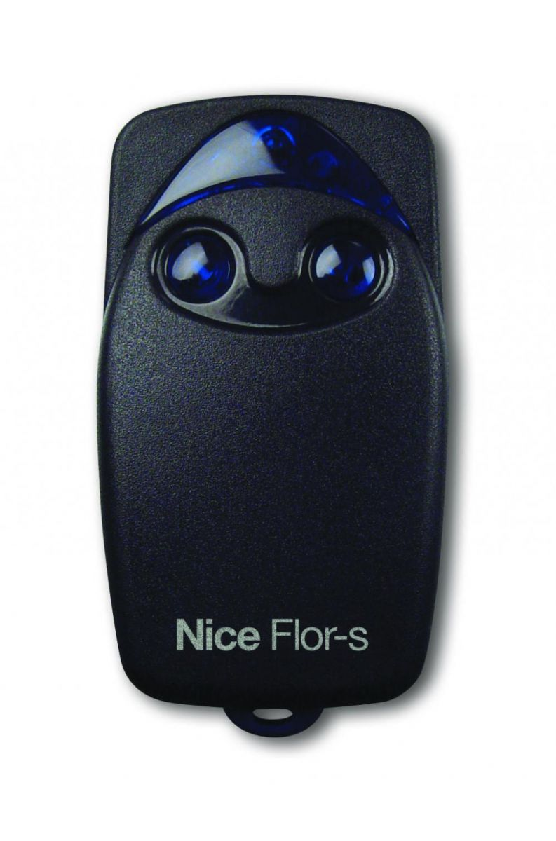 Пульт Nice Flo2R-S, динамический код, пульт черного цвета.