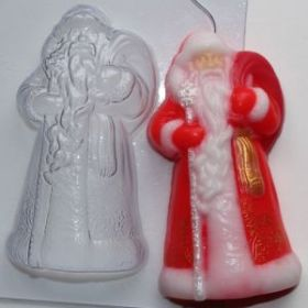 Форма для мыла Дед Мороз ED