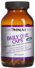 Twinlab Daily One Caps с железом (60 капсул)