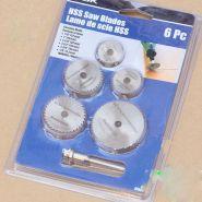 Набор миниатюрных дисковых торцовочных фрез (5 шт.)