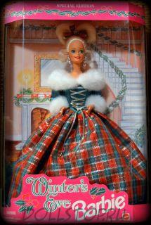"Коллекционная кукла Барби ""Накануне Зимы""  Winters Eve  Barbie Special Edition"