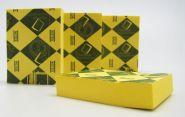 Стикер 76х76мм (жёлтый). (арт. PO-021)