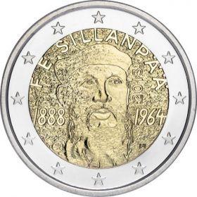 125 лет со дня рождения Франс Эмиль Силланпяя  2 евро Финляндия  2013