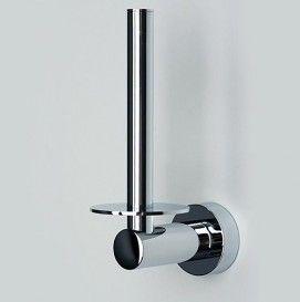 Держатель туалетной бумаги вертикальный WasserKRAFT Серия Donau K-9400 Размер:  6x17x10