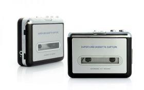 Кассетный плеер и USB-конвертер в mp3