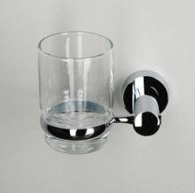 Подстаканник стеклянный WasserKRAFT Серия Donau K-9400 прозрачное стекло