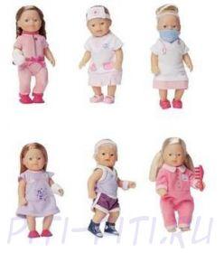 "Zapf Creation. My mini BABY born. Кукла ""Врачи и пациенты"", в ассортименте"