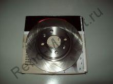 Диск тормозной передний (Logan) Delphi BG4045 аналог 6001547683, 7701208252
