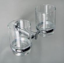 Подстаканник двойной стеклянный WasserKRAFT Серия Oder К-3000