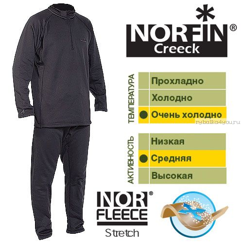 Купить Термобельё Norfin Creeck (Артикул: 3031004)