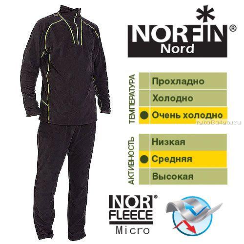 Термобельё Norfin Nord (Артикул: 302700)