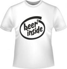 Пиво внутри