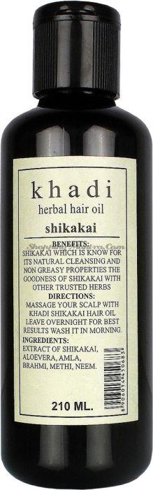 Масло для здоровья волос Кхади Шикакай / Khadi Herbal Shikakai Hair Oil