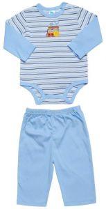 Комплект для мальчика состоит из 2 предметов: боди и штанишек Carter's