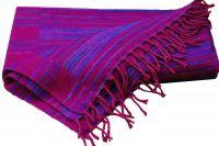 Сине-фиолетовый непальский шерстяной плед, 1800 руб.