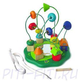 """I'm toy. Развивающая логическая игра """"Зелёная полянка"""""""