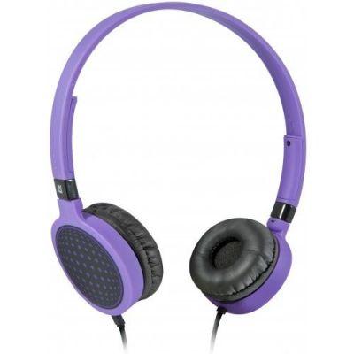 Акция!!! Гарнитура для смартфонов Accord HN-048 фиолетовый, кабель 1,2 м