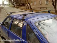Багажник на крышу Москвич 2141, Иж Ода - Атлант, стальные дуги