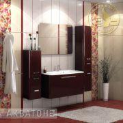 Комплект мебели для ванной комнаты Акватон Валенсия 90