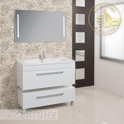 Мебель для ванной комнаты Акватон Мадрид 100 листвинница