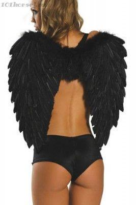Черные крылья падшего ангела