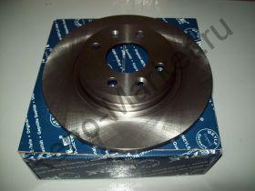 Диск тормозной передний (Logan) Meyle 16-15 521 0005 аналог 6001547683, 7701208252