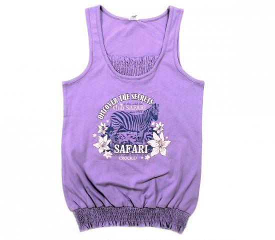 Блуза для девочки Сафари