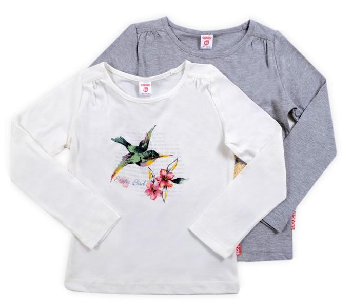 Джемпер для девочки Птичка