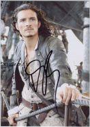Автограф: Орландо Блум. Пираты Карибского моря