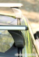 Багажник на крышу Mazda CX-5, Атлант, аэродинамические дуги, опора E