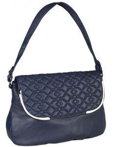Небольшая синяя сумка