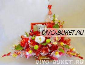 """Букет из конфет №075 """"Портрет"""""""