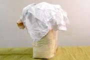 Ветошь простыни (лоскут белый 70*80)