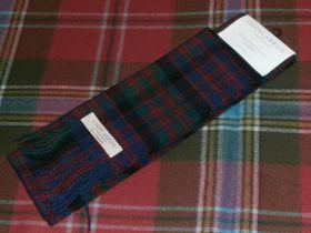 шарф 100% шерсть , расцветка клан Макдональд