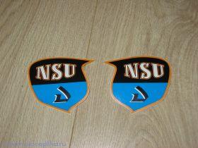 Наклейки на бак NSU. Вар.1