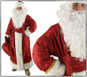 Костюм Деда Мороза (жаккард плотный)