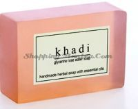 Khadi Herbal Rose Water Soap