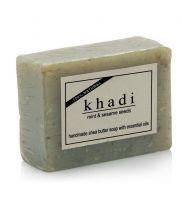 Khadi Mint&Sesame Seeds Soap