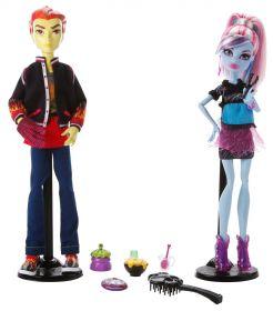 Игровой набор Эбби Боминейбл (Abbey Bominable) и Хит Бёрнс (Heath Burns), серия Ужасное Домоводство, MONSTER HIGH