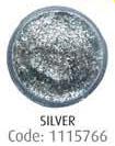Сверкающий гель, серебро