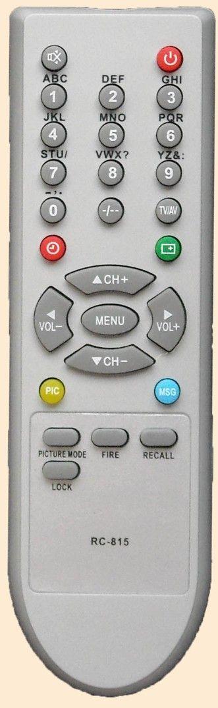 Пульт для Shivaki/Techno/TRONY/ORION/HYUNDAI/TCL RC-815 (TV)