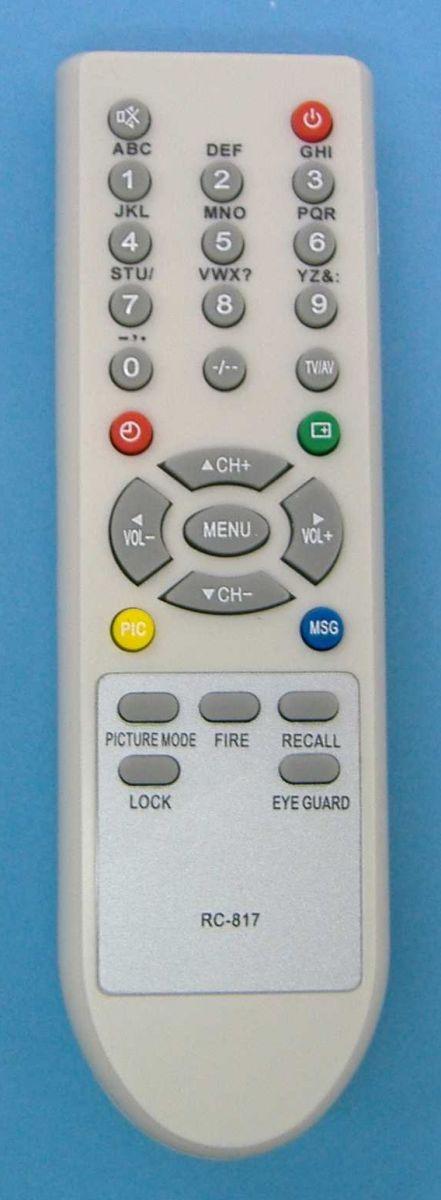 Пульт для Shivaki/Techno RC-817 (TV)