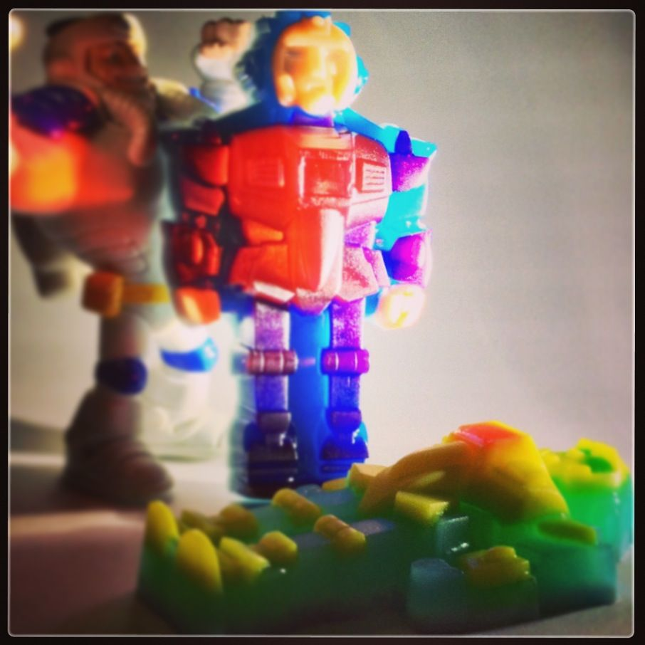"""Мыло """"Робот"""""""