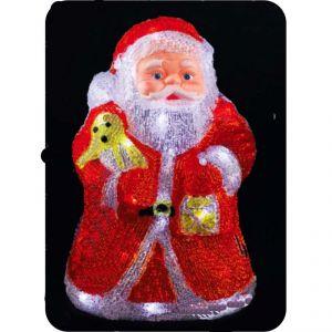"""Фигура """"Дед Мороз """", (30,5см, 32 светодиода)"""
