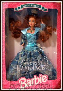 Коллекционная барби  Emerald Elegance Barbie Doll