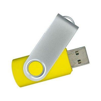 4GB USB-флэш накопитель Supertalent SM-RY раскладной желтый без блистера