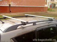 Багажник (поперечины) на рейлинги на Chevrolet Niva, Атлант, аэродинамические дуги